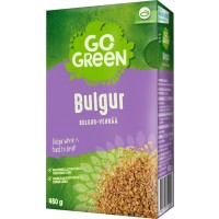 BULGUR 450G PKT GO GREEN