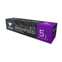MUOVIPUSSI 5L 50KPL/PKT ESKIMO