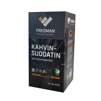 KAHVINSUODATIN 90MM 250KPL/PKT FREDMAN