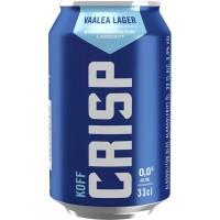 OLUT KOFF CRISP ALKOHOLITON 0,33L TLK