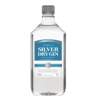 SILVER DRY GIN 40% 70CL PLO