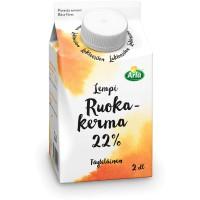 RUOKAKERMA 22% LAKT. UHT 2DL ARLA